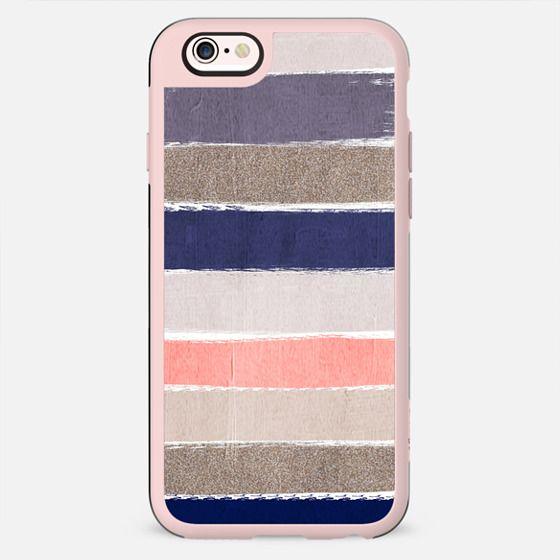 Watercolor abstract painting brushstrokes feminine cell phone case hipster trendy glitter girls - New Standard Case