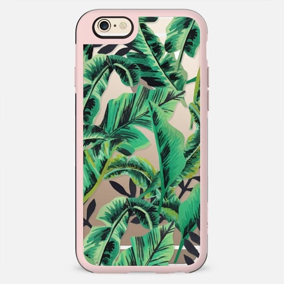 Tropical Glam Banana Leaf - New Standard Case