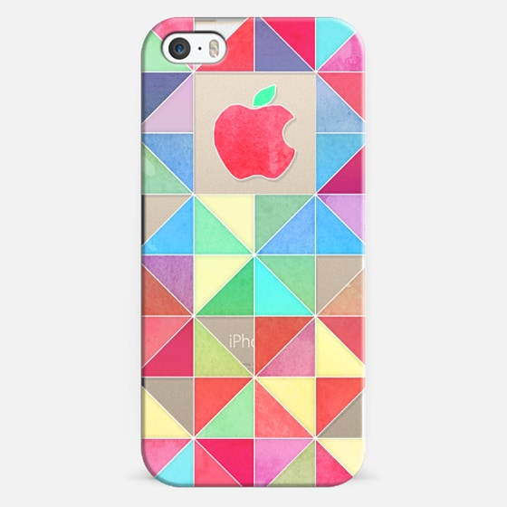 Rainbow triangles - transparent -