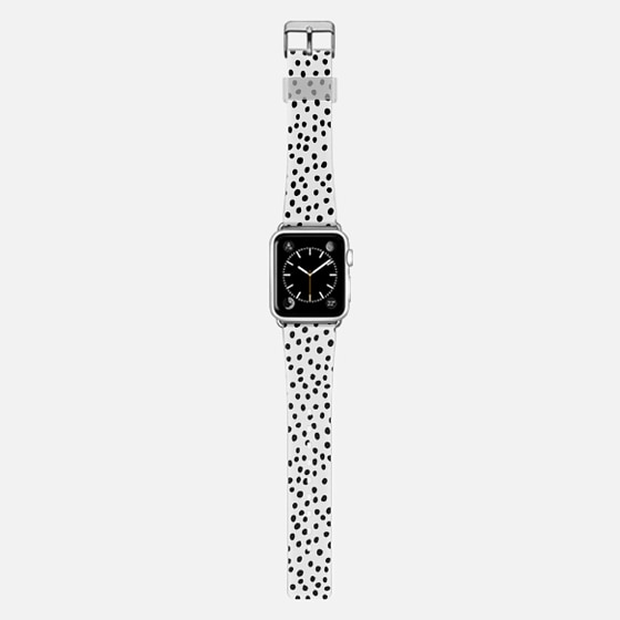 Ink Dots - Black on White Band -
