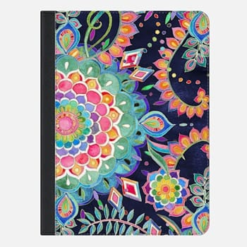 iPad Air 2 Case Color Celebration Mandala iPad cover