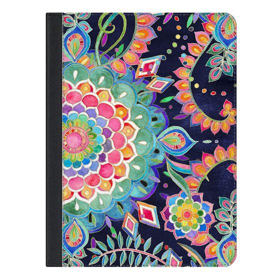 Color Celebration Mandala iPad cover