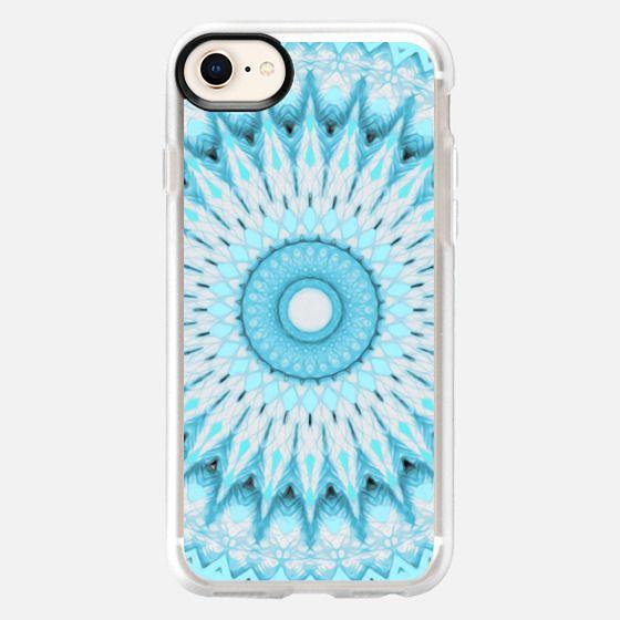 Soft Turquoise Mandala - Snap Case