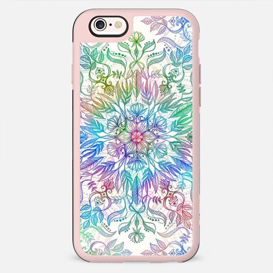 Pretty Soft Rainbow Floral Mandala - New Standard Case
