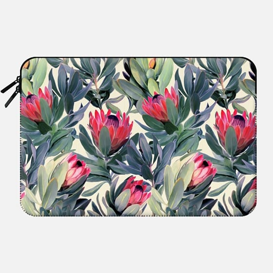 Painted Protea Pattern -