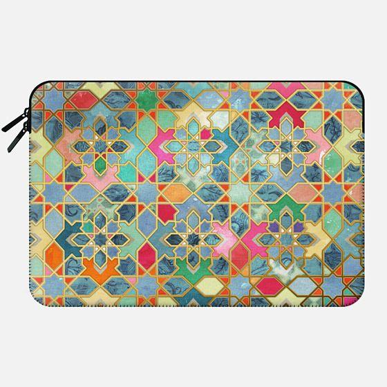 Gilt & Glory - Colorful Moroccan Mosaic -
