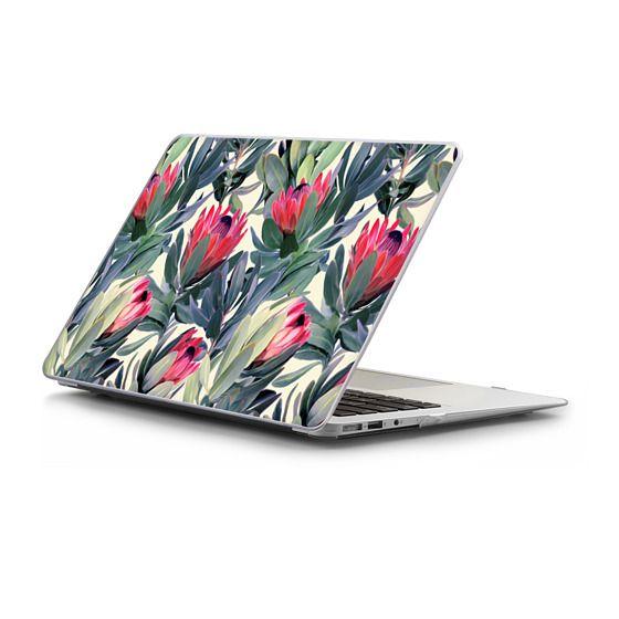 MacBook Air 13 Sleeves - Painted Protea Pattern