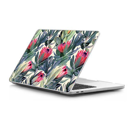 MacBook Pro Touchbar 13 Sleeves - Painted Protea Pattern