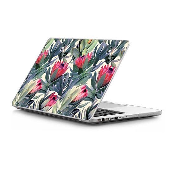 MacBook Pro 15 Sleeves - Painted Protea Pattern