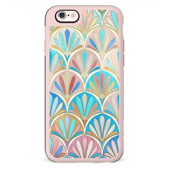 Vintage Twenties Art Deco Pastel Pattern