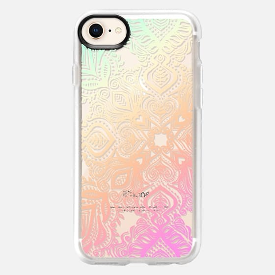Bold Love Tropical Pastels Lace - Snap Case