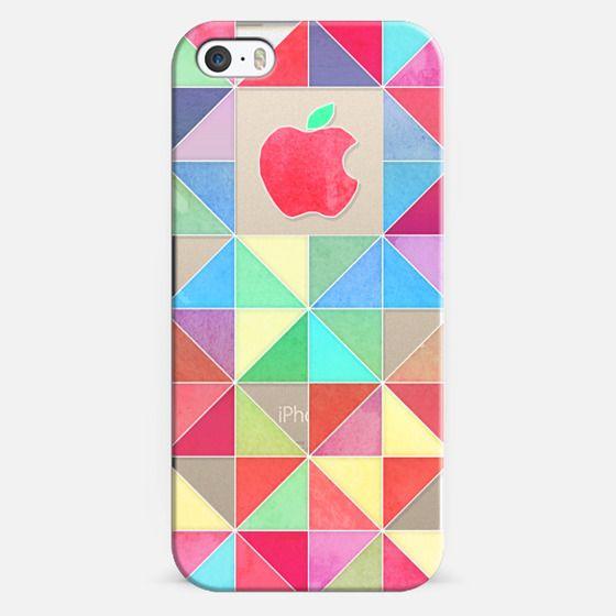 Rainbow triangles - transparent -