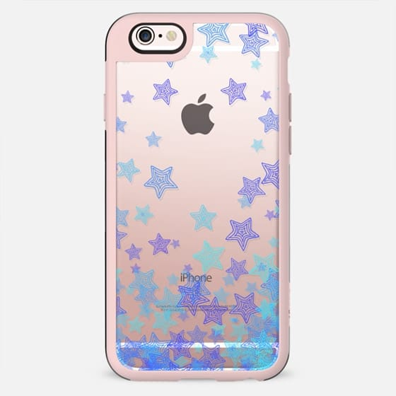 Purple, Blue & Aqua Stars - New Standard Case
