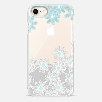 iPhone 8 Case Daisy Dance on Wood