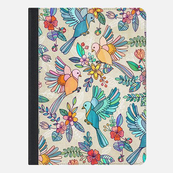 Whimsical Summer Flight iPad - iPad Folio Case