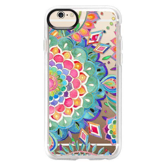 iPhone 6 Cases - Color Celebration Mandala - clear