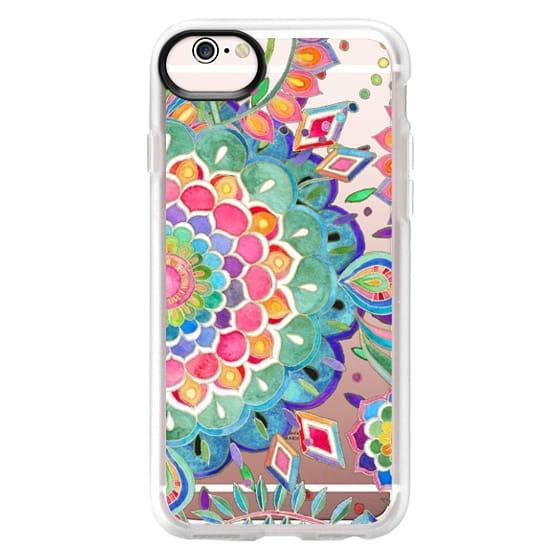 iPhone 6s Cases - Color Celebration Mandala - clear