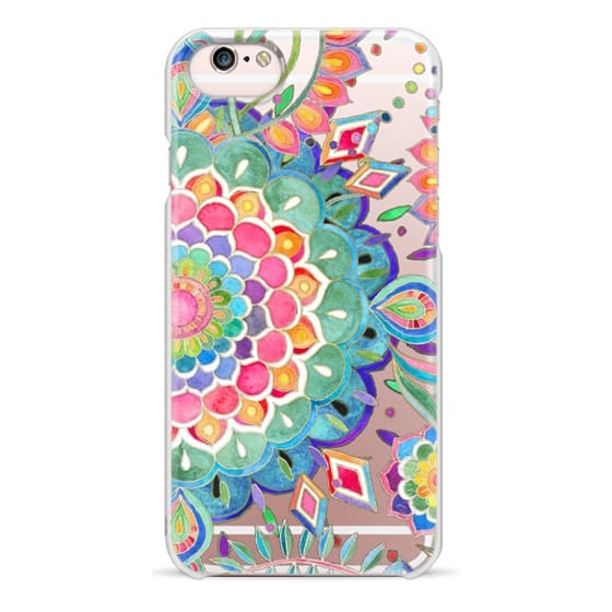 iPhone 6s Cases - Color Celebration Mandala - clear