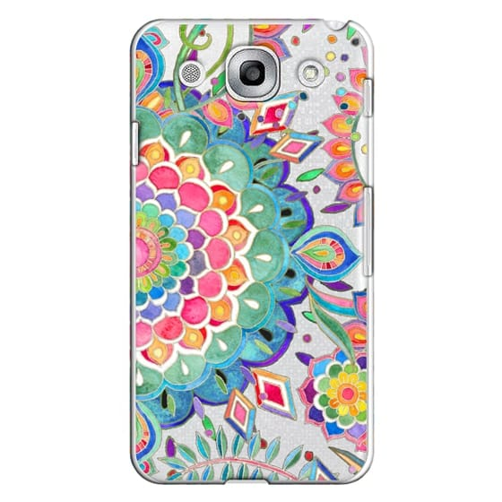 Optimus G Pro Cases - Color Celebration Mandala - clear