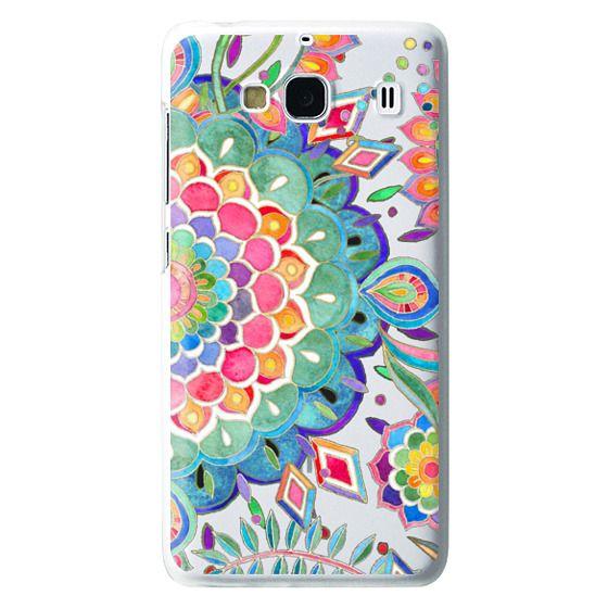 Redmi 2 Cases - Color Celebration Mandala - clear