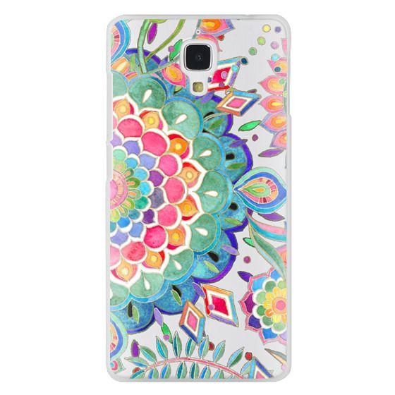 Xiaomi 4 Cases - Color Celebration Mandala - clear