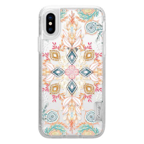 iPhone X Cases - Wonderland in Spring - transparent