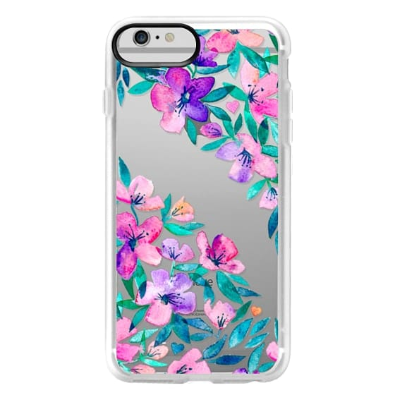 iPhone 6 Plus Cases - Midsummer Floral 2 - translucent
