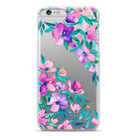 iPhone 6 Plus Cases - Midsummer Floral 2 - translucent