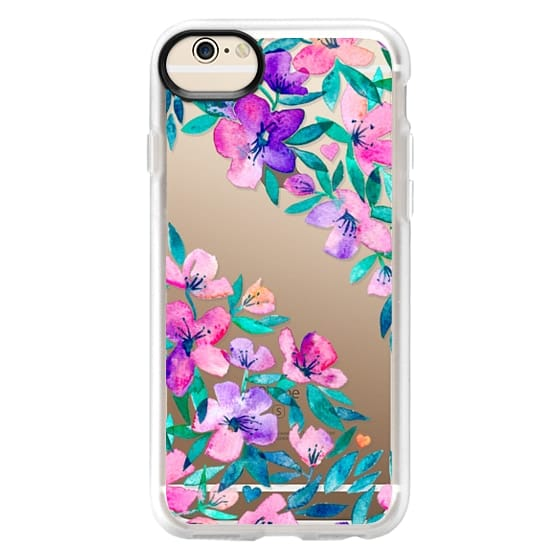 iPhone 6 Cases - Midsummer Floral 2 - translucent