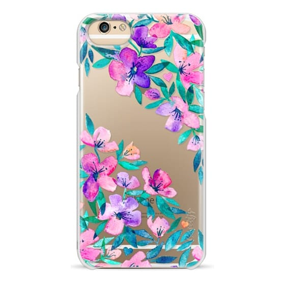 iPhone 6 Cases - Midsummer Floral 2 - translucent