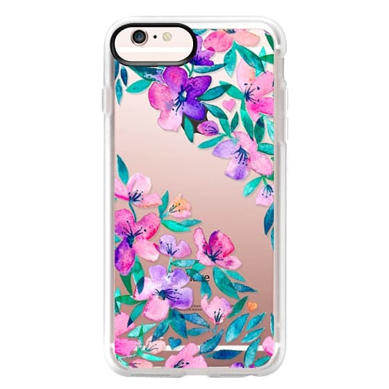 iPhone 6s Plus Cases - Midsummer Floral 2 - translucent