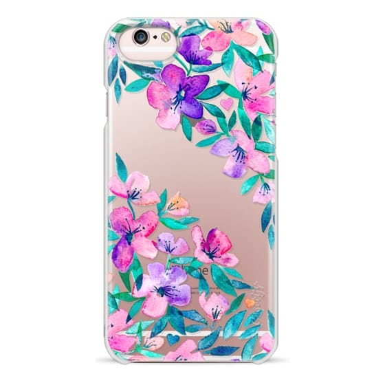 iPhone 6s Cases - Midsummer Floral 2 - translucent