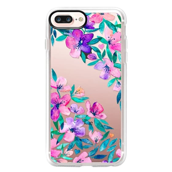 iPhone 7 Plus Cases - Midsummer Floral 2 - translucent