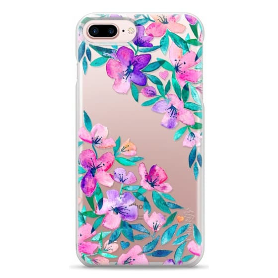 iPhone 7 Plus Cases - Midsummer Floral 2 - translucent