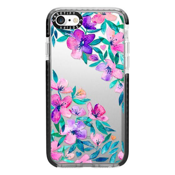 iPhone 7 Cases - Midsummer Floral 2 - translucent