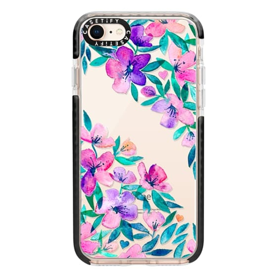 iPhone 8 Cases - Midsummer Floral 2 - translucent