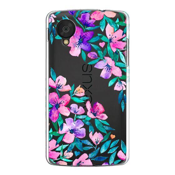 Nexus 5 Cases - Midsummer Floral 2 - translucent
