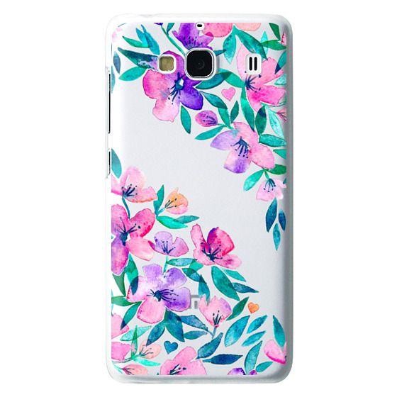 Redmi 2 Cases - Midsummer Floral 2 - translucent