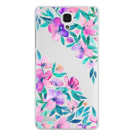 Redmi Note Cases - Midsummer Floral 2 - translucent