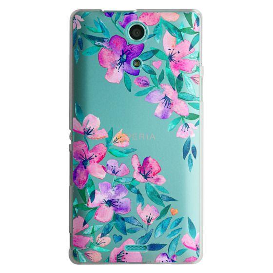 Sony Zr Cases - Midsummer Floral 2 - translucent
