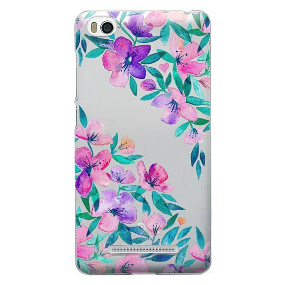Xiaomi 4i Cases - Midsummer Floral 2 - translucent