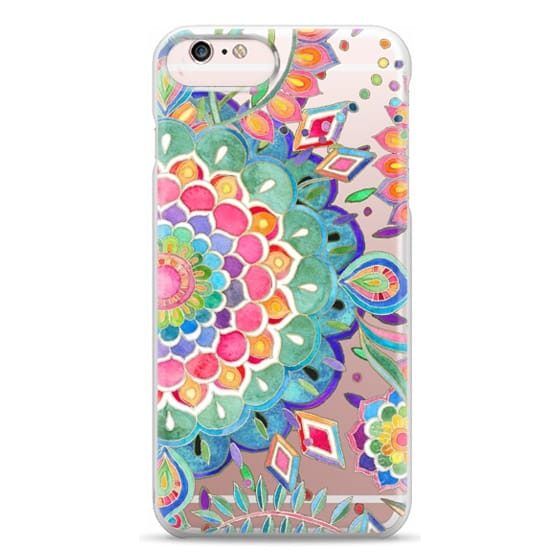 iPhone 6s Plus Cases - Color Celebration Mandala - clear