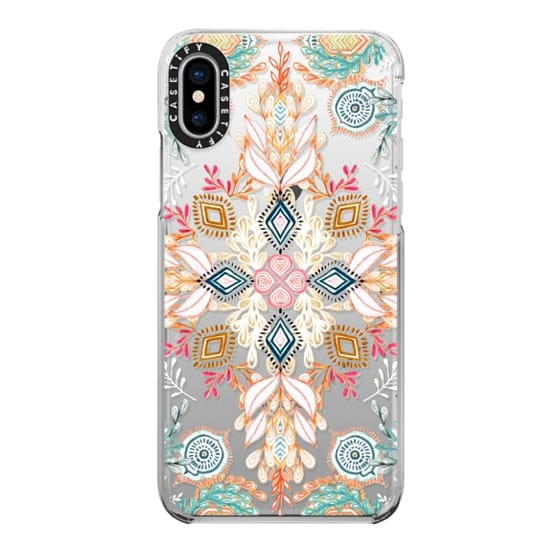 iPhone X Cases - Wonderland in Spring - transparent