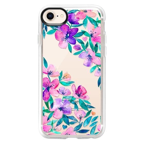iPhone 8 Cases - Midsummer Floral 2 - translucent