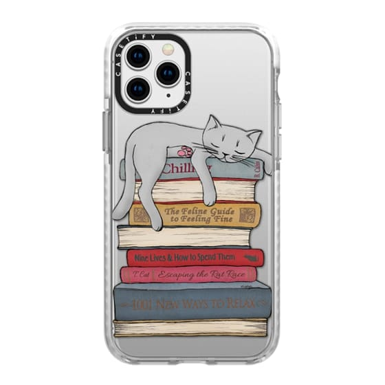 iPhone 11 Pro Cases - How to chill like a cat - transparent