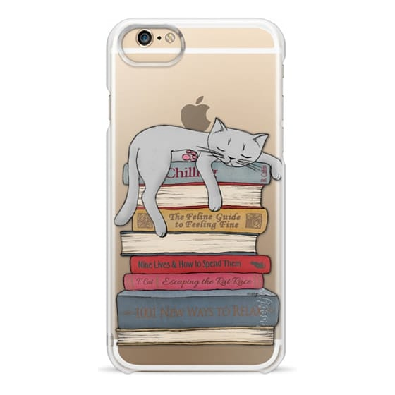 iPhone 6 Cases - How to chill like a cat - transparent