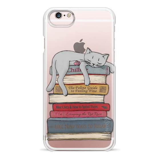 iPhone 6s Cases - How to chill like a cat - transparent