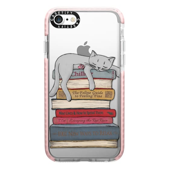 iPhone 7 Cases - How to chill like a cat - transparent