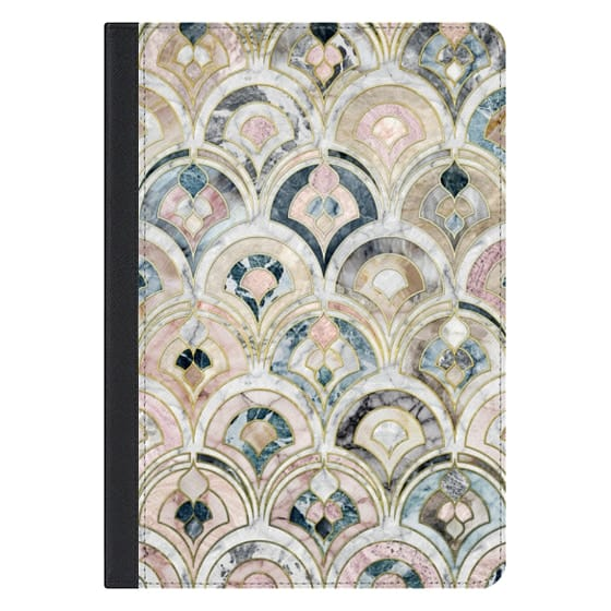 10.5-inch iPad Pro Covers - Art Deco Marble Tiles in Soft Pastels iPad cover