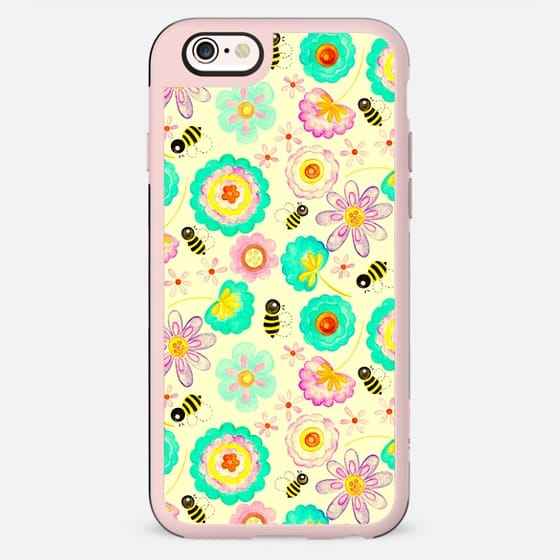 Floral Bee - New Standard Case